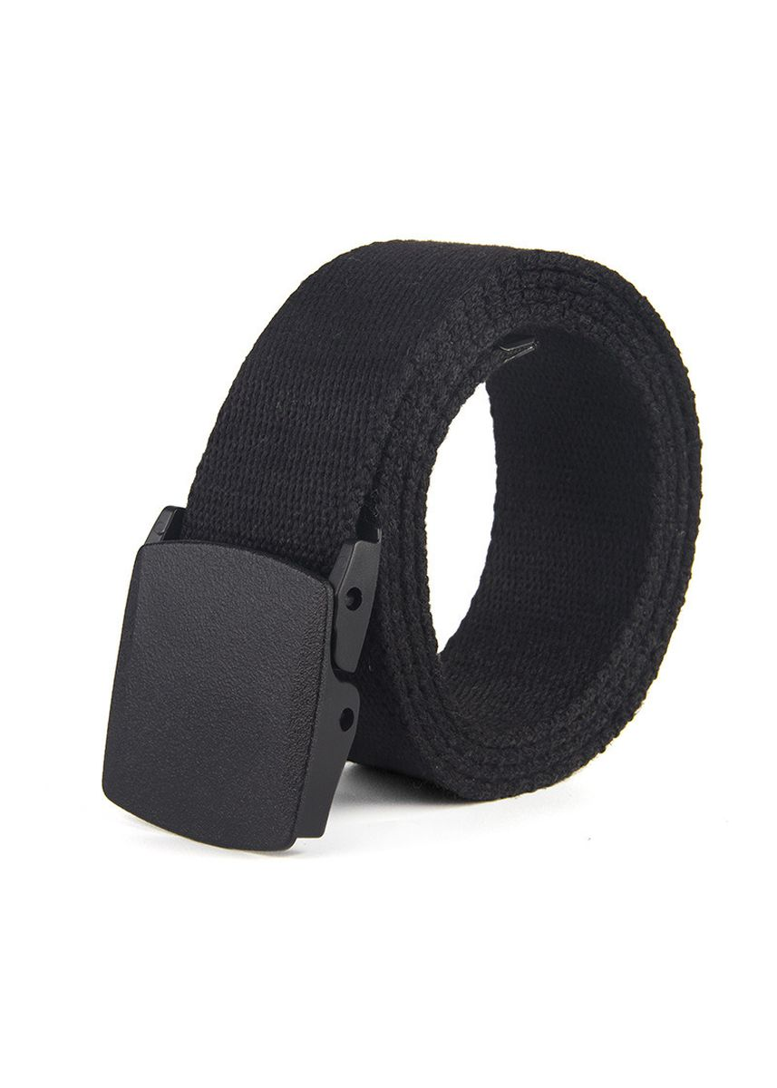 แดง color เข็มขัด . Metal-free Buckle Belt Canvas Woven Outdoor Casual Cotton -