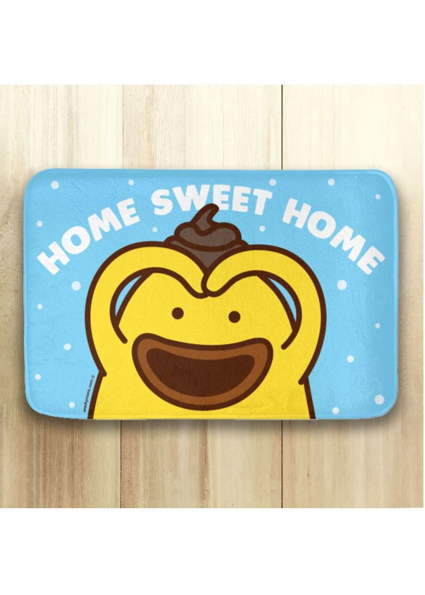 Blue color Home Decor . Home Sweet Home Doormat -