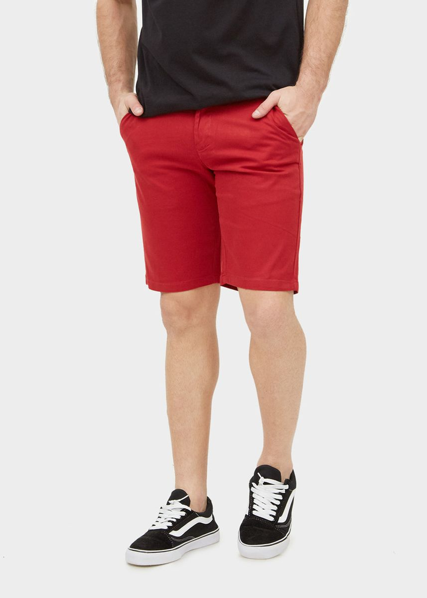 Red color Shorts & 3/4ths . Red Chino Shorts -