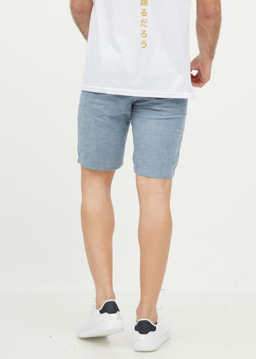 Grey color Shorts & 3/4ths . Stone Gray Chambray Shorts -