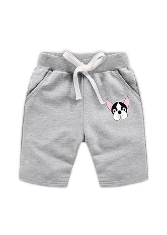 Grey color Bottoms . Cotton Boys Baby Kids Child Shorts 34 Pants 56 Years Old -