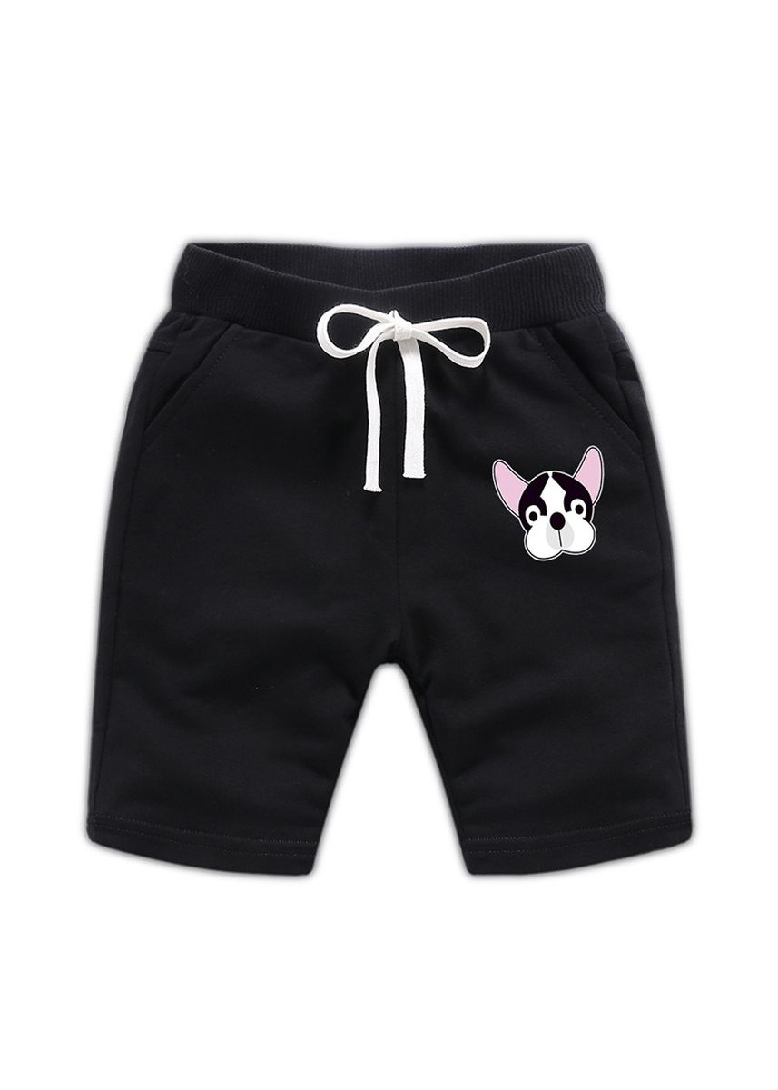 Black color Bottoms . Cotton Boys Baby Kids Child Shorts 34 Pants 56 Years Old -