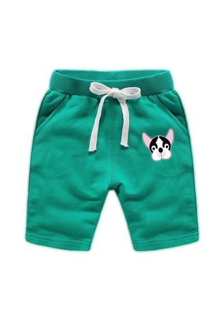 Green color Bottoms . Cotton Boys Baby Kids Child Shorts 34 Pants 56 Years Old -