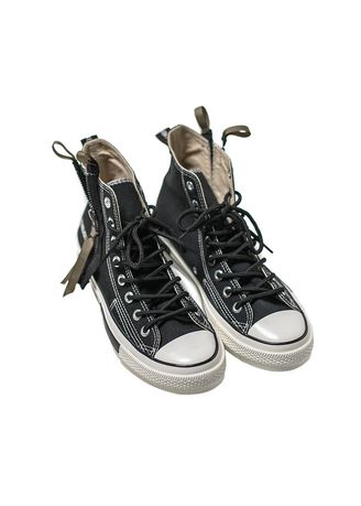 Black color Casual Shoes . Canvas Shoes for Men Casual Flats Comfortable and Fashion Footwear -