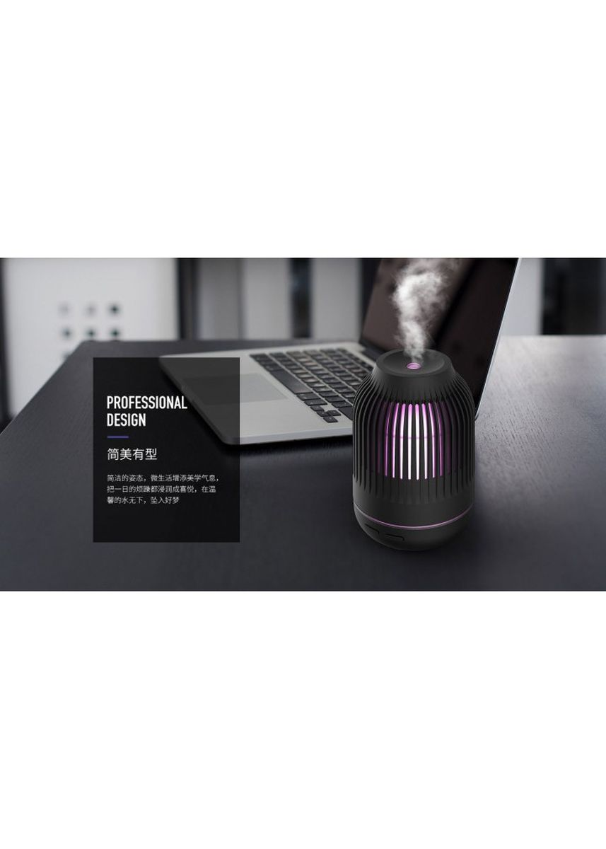 White color Home Fragrances . REMAX RT-A710 MAG Series Ultrasonic Aroma Diffuser Humidifier 90ML White -