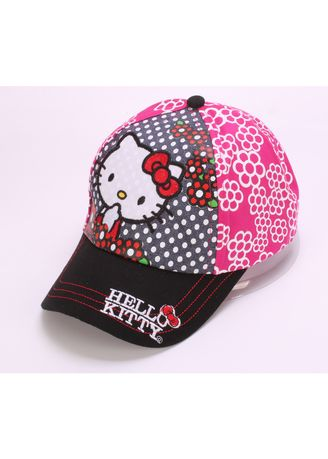 . Children's Hat KITTY Cat Baseball Cap Girl Tide Visor -