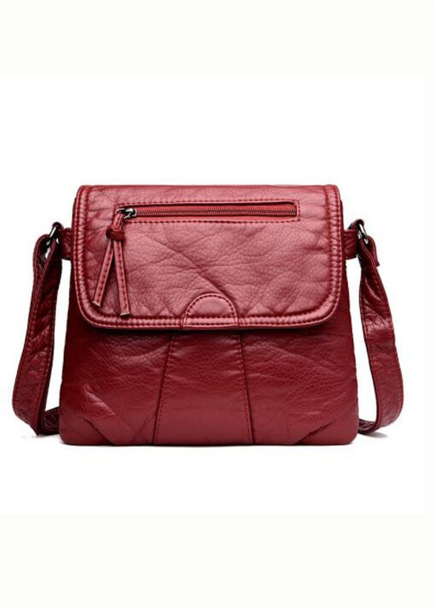 Red color Sling Bags . New Womens Ladies Sling Bags PU Leather Bag -