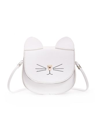 Sling Bags . Women Cute Cat Shape Sweet Fancy Sling Bags -