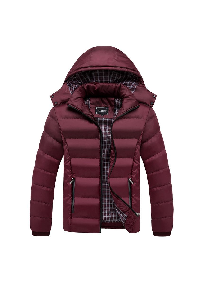 Red color Jackets . Men Winter Jacket Warm Male Coats Fashion Thick Thermal Men Parkas -