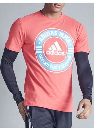 Sports Wear . Adidas ACS MMA Leisure Printed T-Shirt -