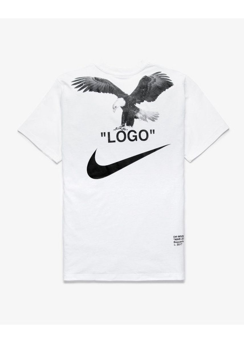 White color T-Shirts and Polos . Nike Off White NRG A6 Tee (Black / White) -