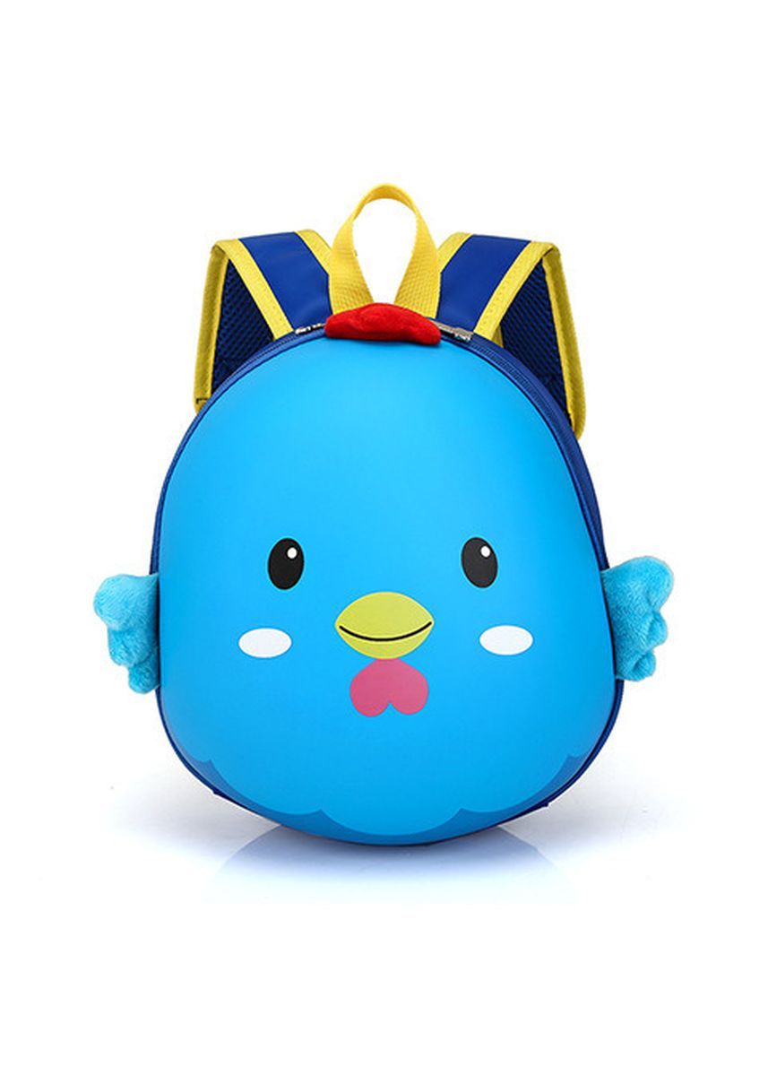 Blue color Bags . Cartoon Eggshell Chick Shape Men And Women Children's Bag Kids -