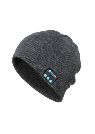 ba9a65c44f50 Bluetooth Music Hat Winter Warm Beanies Knitted Hat With Mic for Sports