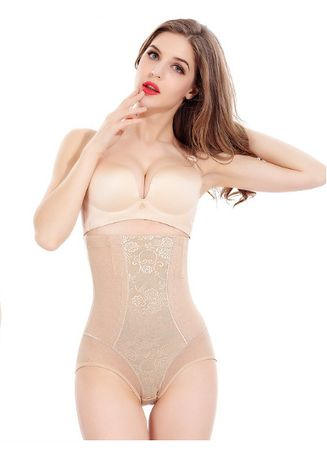 6470a8d6f7 Women s High Waist Tummy Control Panties Body Shaper Seamless ...