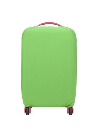 Green color Travel Wallets & Organizers . FIRST PROJECT - SARUNG PELINDUNG KOPER ELASTIS POLOS LUGGAGE COVER PROTECTIVE SUITCASE SIZE L (26-30 INCH) -