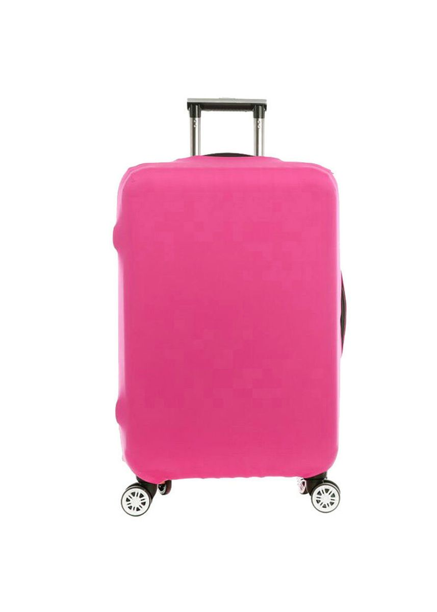 Pink color Travel Wallets & Organizers . FIRST PROJECT - SARUNG PELINDUNG KOPER ELASTIS POLOS LUGGAGE COVER PROTECTIVE SUITCASE SIZE XL (31-32 INCH) -