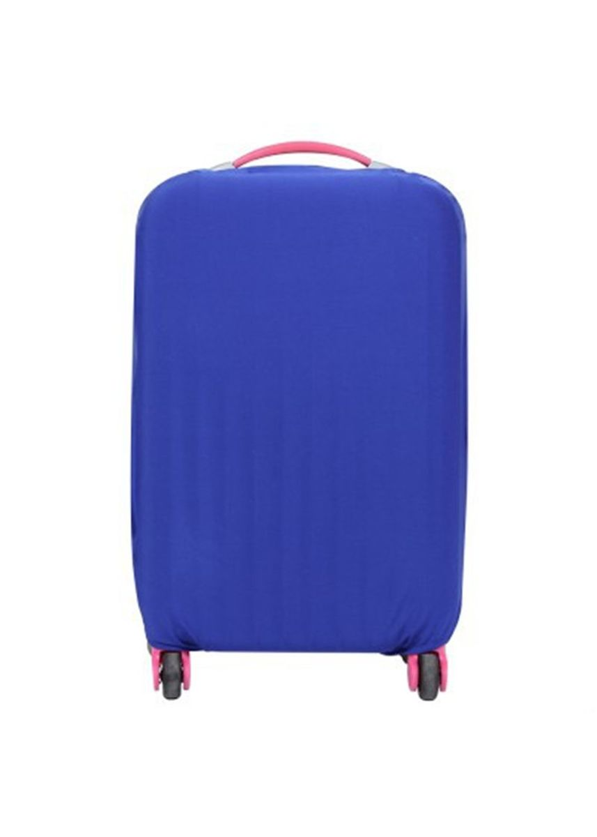 Blue color Travel Wallets & Organizers . FIRST PROJECT - SARUNG PELINDUNG KOPER ELASTIS POLOS LUGGAGE COVER PROTECTIVE SUITCASE SIZE M (22-24 INCH) -