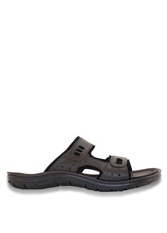 Brown color Sandals and Slippers . Borsa - Ora -