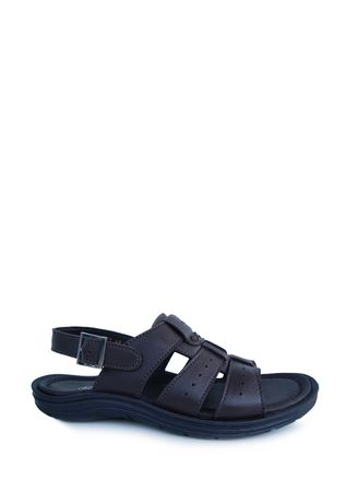 Brown color Sandals and Slippers . Borsa - Avalon -