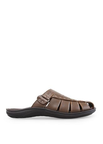 Brown color Sandals and Slippers . Borsa - Rhodes -