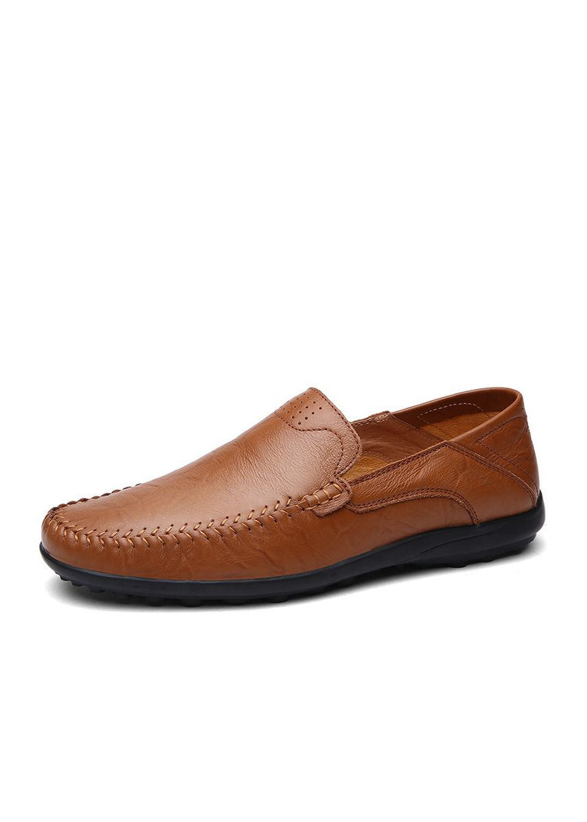 Brown color Casual Shoes . Men's Casual Shoes, Breathable, Peas, One Foot, Soft Bottom, Shoes -