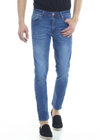 Biru color Celana Jeans . 2Nd RED Celana Jeans Comfort Slim Fit 133265 -