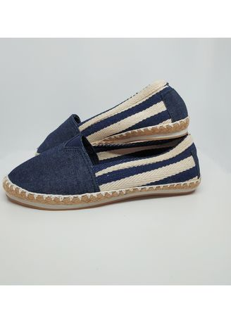 Navy color Sandals and Slippers . Flat Maria Elyu Espadrilles -