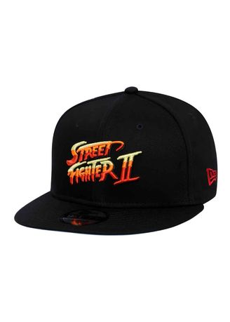 New Era CAPCOM Street Fighter Logo Black 9FIFTY Cap d1a4b401e78e