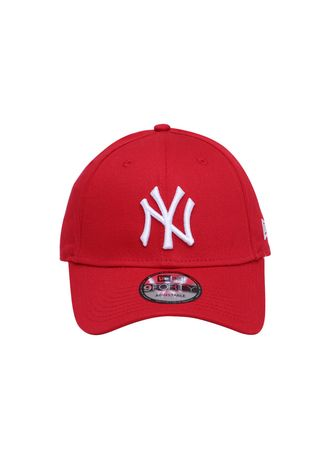 97293afeab5 New Era New York Yankees MLB League Essential Scarlet 9FORTY Cap ...