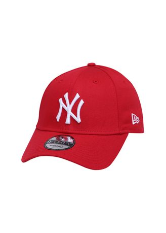 adc48c89c7de5 ... low price new era new york yankees mlb league essential scarlet 9forty  cap mens hats and