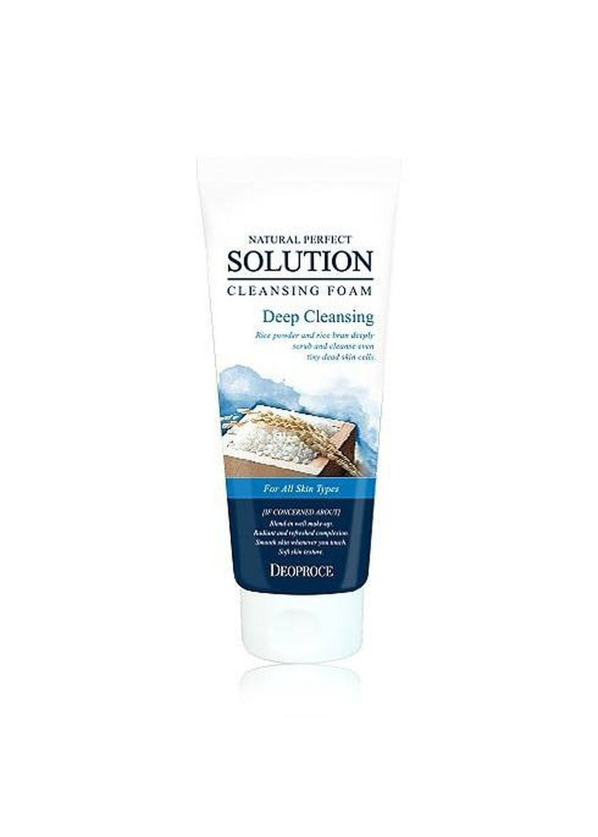 No Color color Face Wash . Deoproce โฟมล้างหน้า Deep Cleansing Foam รุ่น MSK-DF2557 170 กรัม -