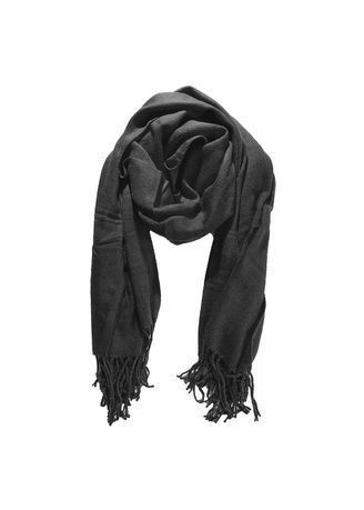 Scarves . Women Casual Stylish Solid Design Scarves -