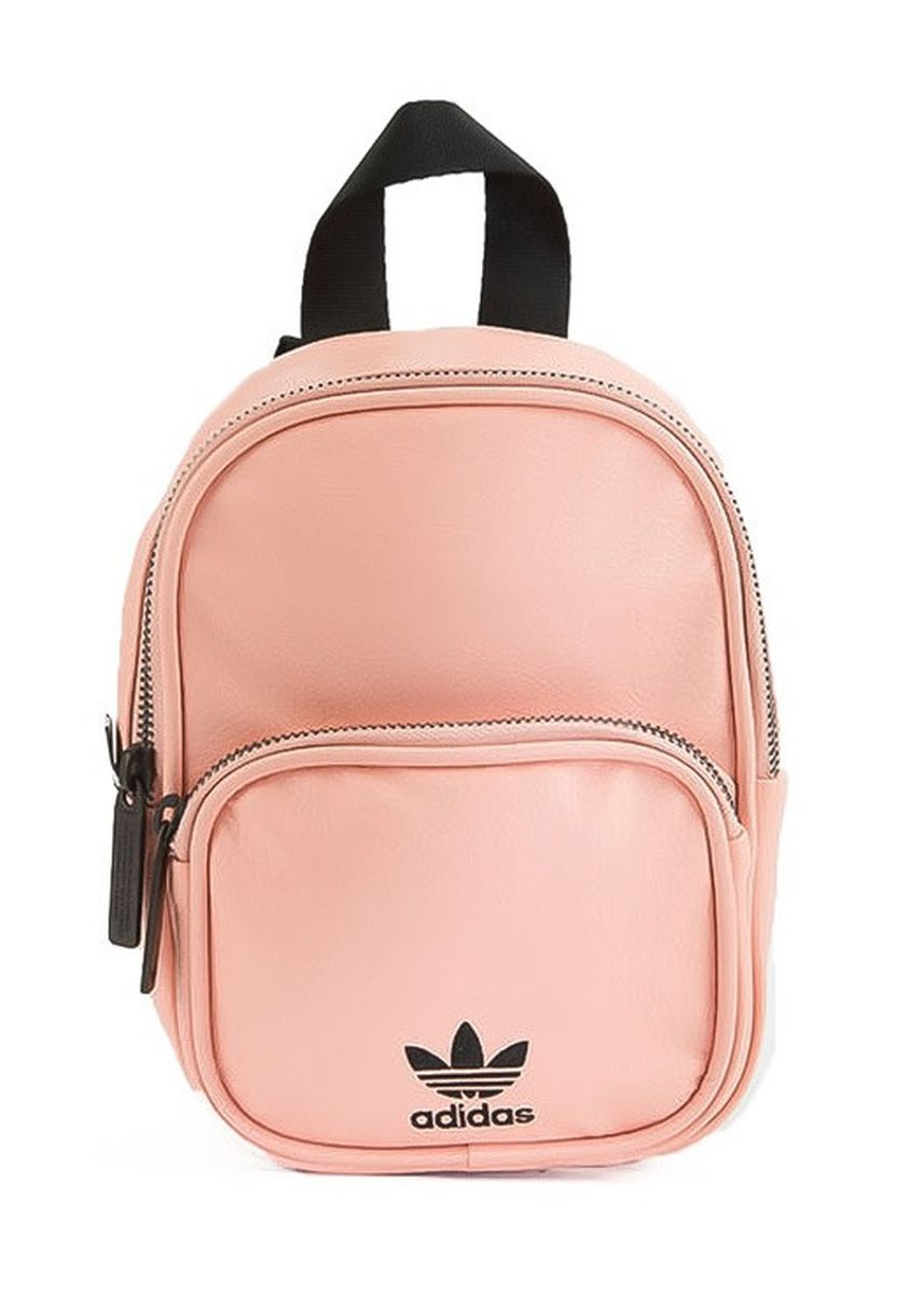 Pink color Backpacks . Adidas Mini PU Leather Backpack (Pink) -