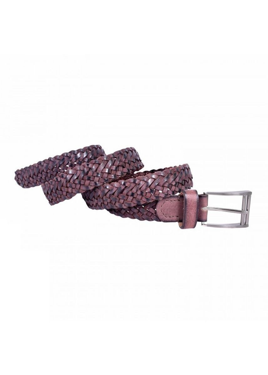 Brown color Belts . Premium Leather Braided Belt 30 mm -