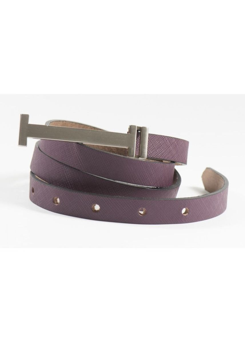 Purple color Belts . Premium Leather Belt - Sally -