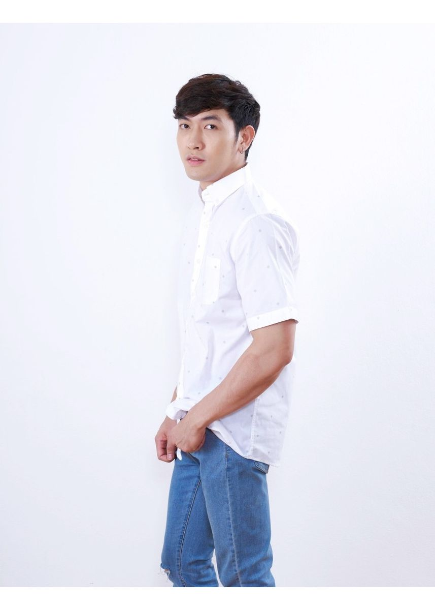 White color Formal Shirts . Quattro - Speck -