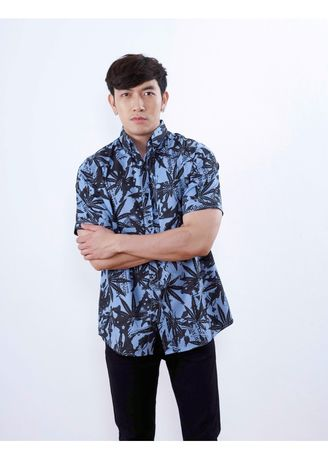 Blue color Formal Shirts . Quattro - WEED -