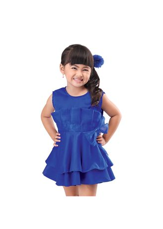 Biru color Terusan/Dress . Infikids 115IGF -