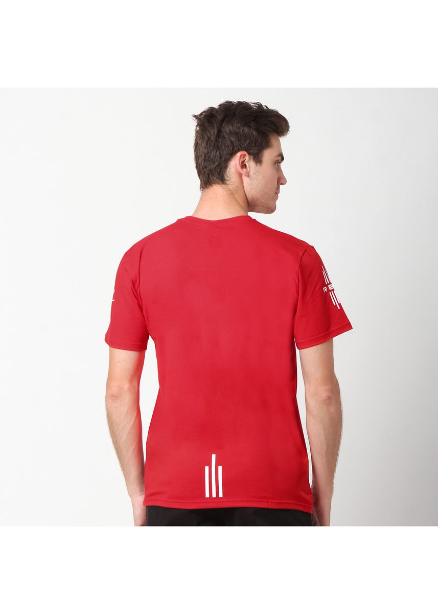Red color T-Shirts and Polos . RBJ TShirt Pria 255770071 Merah -