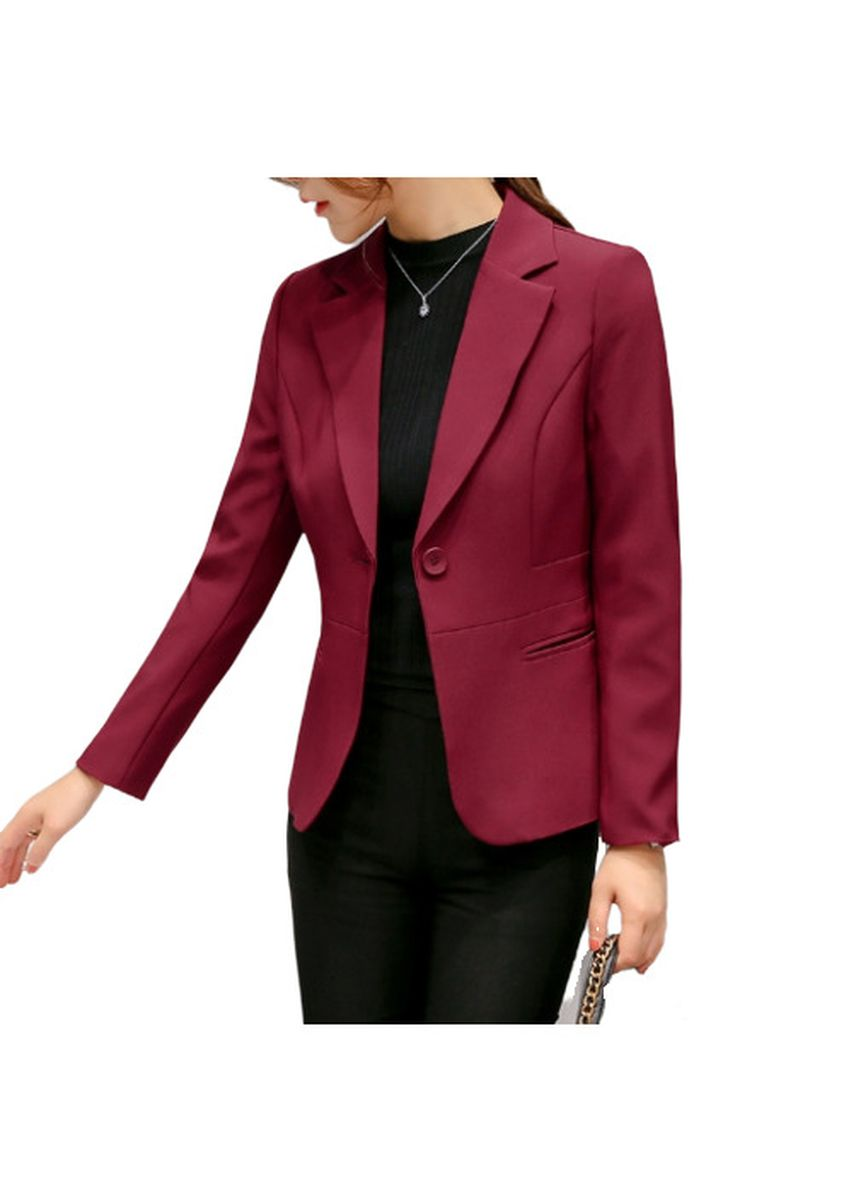 Red color Shrugs . Blazer -