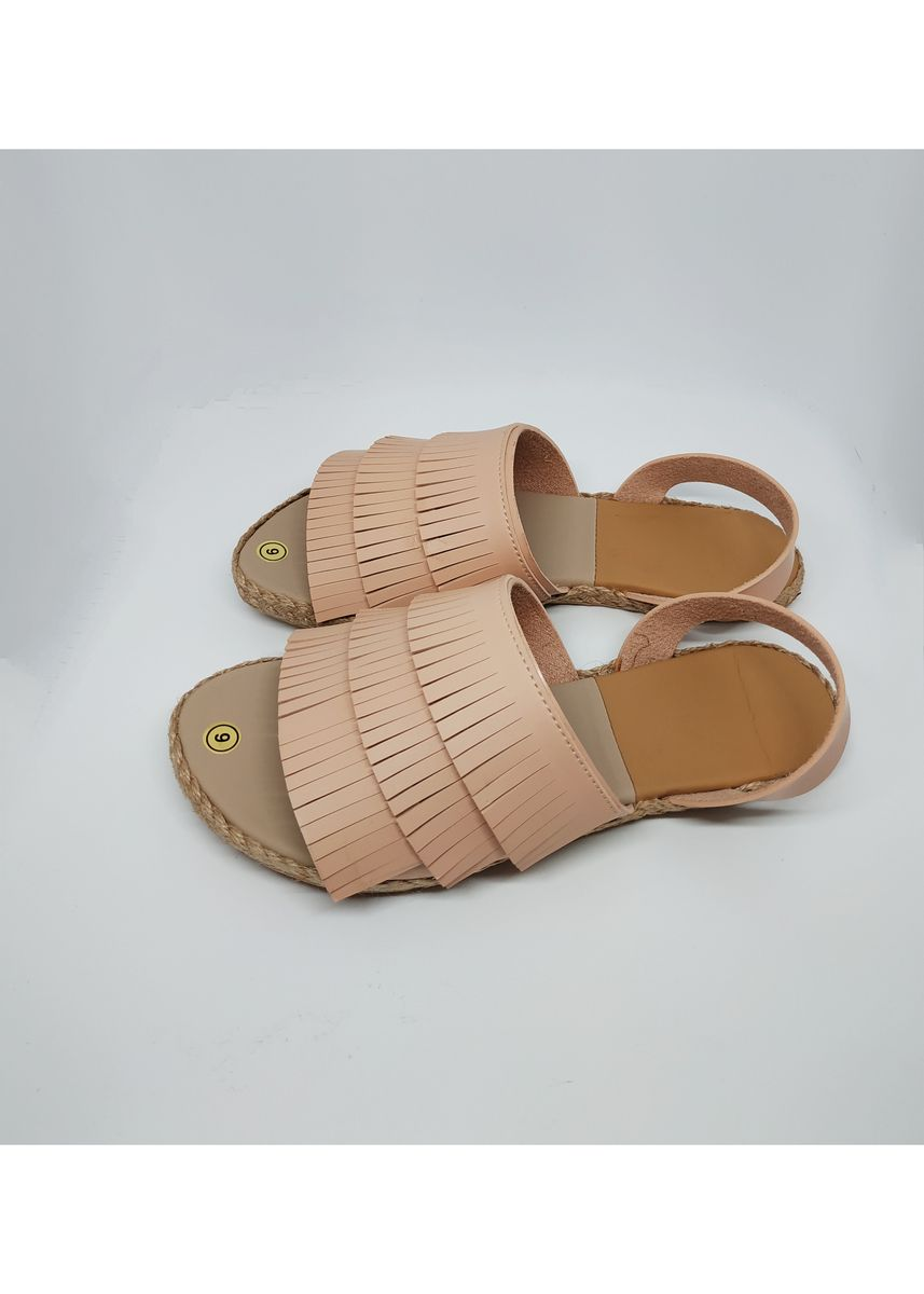 Pink color Sandals and Slippers . Flat Maria Chella Sandals -