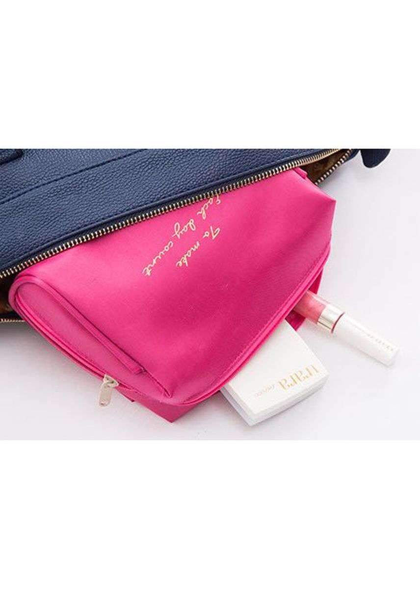 Pink color Travel Wallets & Organizers . FIRST PROJECT - TAS PENYIMPANAN KOSMETIK DAN PERALATAN MANDI POLOS PLAIN COSMETIC MAKE UP POUCH TOILETRIES BAG -