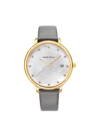 Analog . Aries Gold Enchant Fleur L 5035 G-Mp Women's Watch -