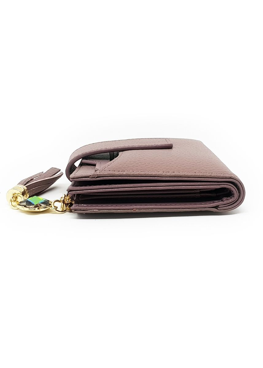 Purple color Wallets and Clutches . Leather Small Coin Purse - Purple -