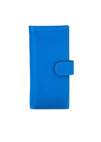 Blue color Wallets and Clutches . McJim Long Wallet With Detachable Cardholder (WLTF26-CL99-23) -