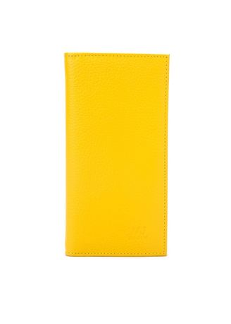 Yellow color Wallets and Clutches . McJim Leather Long Wallet (WLTF27-CL99-10) -