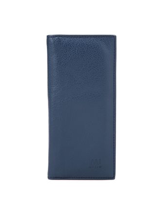 Blue color Wallets and Clutches . McJim Leather Long Wallet (WLTF27-CL99-06) -