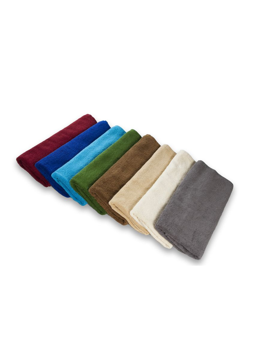 Brown color Towels . Indolinen Hand Towel Handuk Tangan Putih 2pcs -