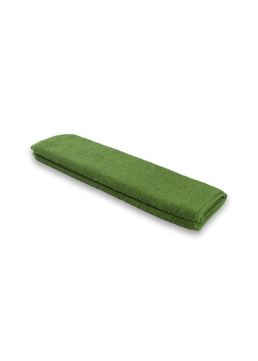 Green color Towels . Indolinen Hand Towel Handuk Tangan Putih 2pcs -