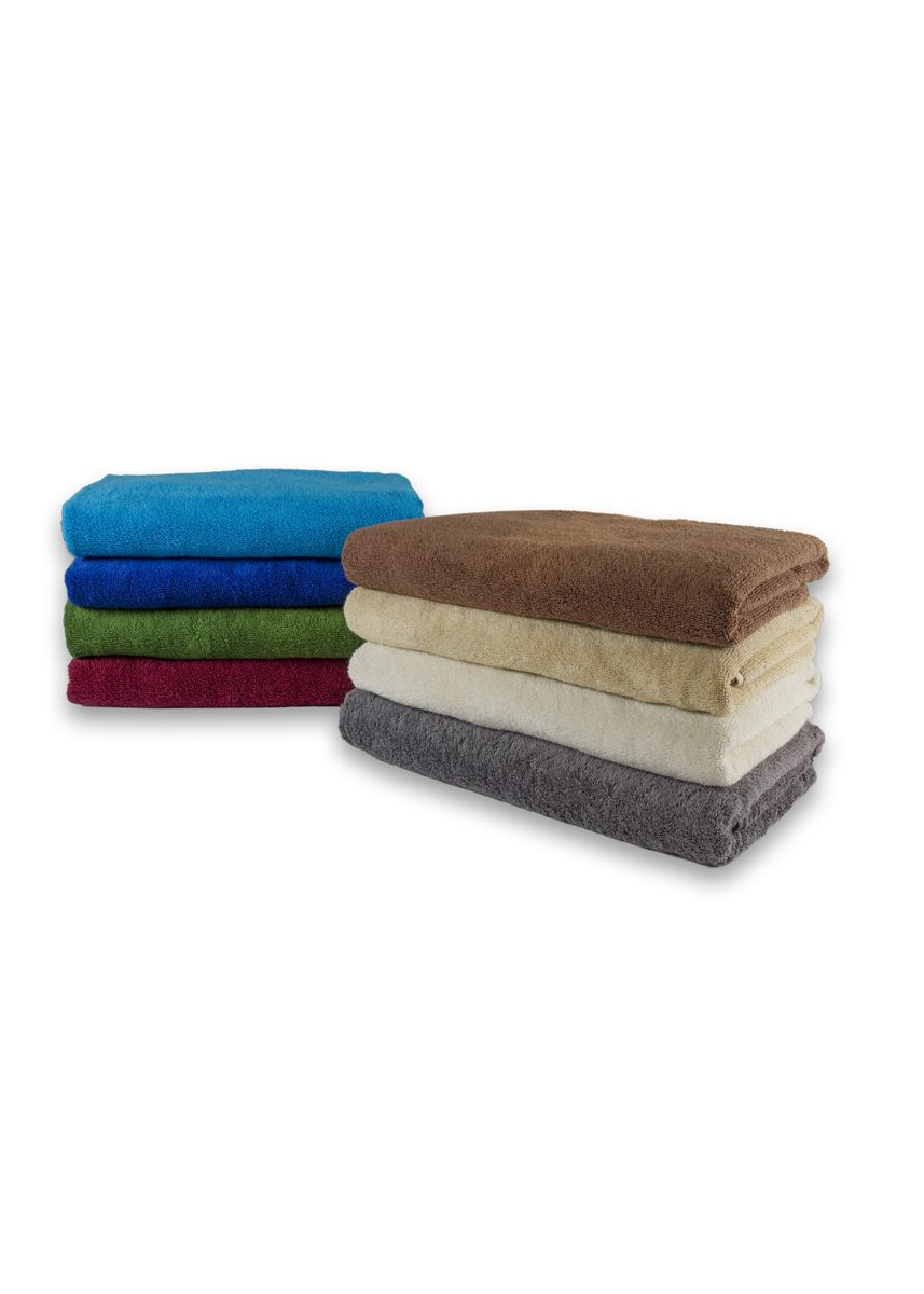 Brown color Towels . Indolinen Bath Towel Handuk Mandi Putih -